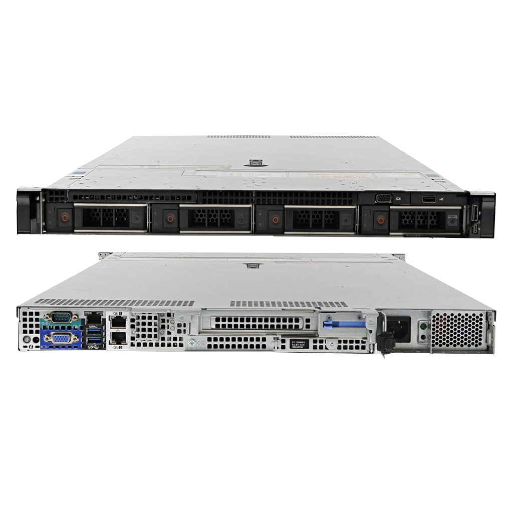 Servidor Dell EMC PowerEdge R440 Xeon 16GB 2TB